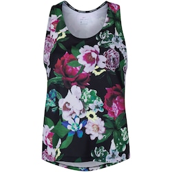 Camiseta Regata Nike Tank Femme HO2 - Feminina - PRETO/VERDE