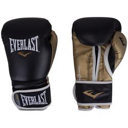 Luvas de Boxe Everlast Powerlock - 16 OZ - Adulto - PRETO/OURO