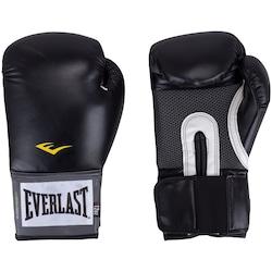 Luvas de Boxe Everlast Pro Style - 12 OZ - Adulto - PRETO
