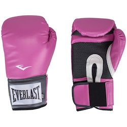 Luvas de Boxe Everlast Pro Style - 12 OZ - Adulto - ROSA