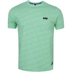 Camiseta HD Estampada 7774A - Masculina - Aqua