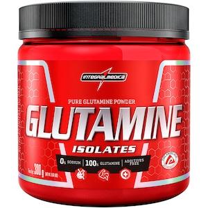 Glutamina Integralmedica Isolate Glutamine Body Size - 300g