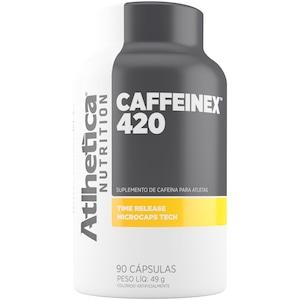 Energético Atlhetica Caffeinex - 90 Cápsulas