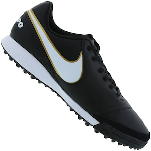 366ce98249 Chuteira Society Nike Tiempo Gênio II Leather TF - Adulto