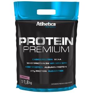 Blend Proteico Atlhetica Protein Premium - Morango - 1,8Kg