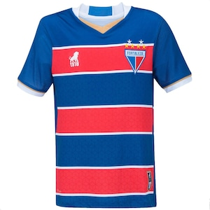 Camisa do Fortaleza I 2017 nº 18 Leão - Infantil