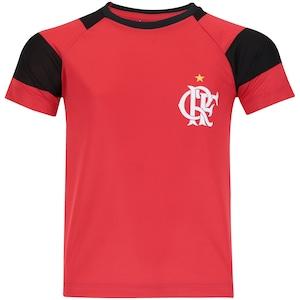 Camiseta do Flamengo Raglan - Infantil