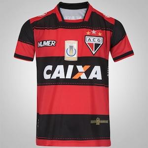 Camisa do Atlético-GO I 2017 nº 10 Numer - Infantil