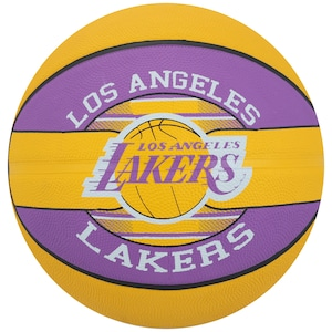 Bola de Basquete Spalding NBA Los Angeles Lakers Team