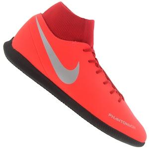 Chuteira Futsal Nike Phantom VIVSN Club DF IC - Adulto