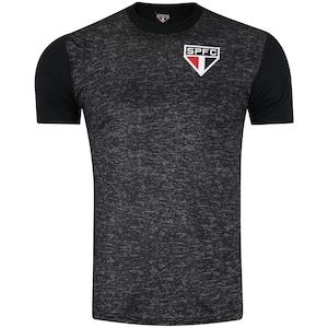 Camiseta do São Paulo Mescla 18 - Masculina
