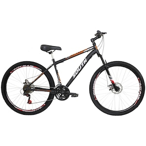 Mountain Bike South Bike Hunter GT - Aro 29 - Freio a Disco Mecânico - 21 Marchas