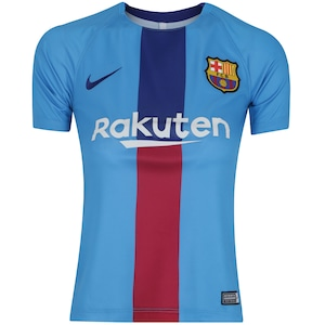 90139f98ca Camisa de Treino Barcelona 19/20 Nike - Infantil
