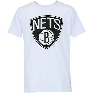 Camiseta NBA Brooklyn Nets Big Logo - Masculina