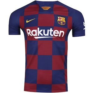 Camisa Barcelona I 19/20 Nike - Masculina