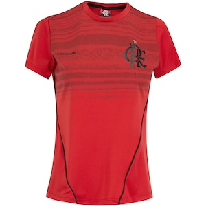 Camiseta do Flamengo Dribble 19 - Feminina