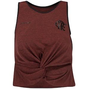 Camiseta Regata Cropped do Flamengo Second 19 - Feminina