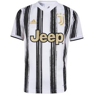 Camisa Juventus I 20/21 adidas - Infantil