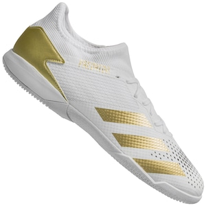 Chuteira Futsal adidas Predator 20.3 Low IN - Adulto