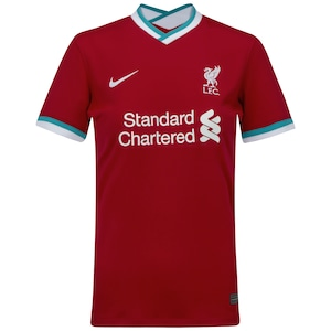 Camisa Liverpool I 20/21 Nike - Feminina