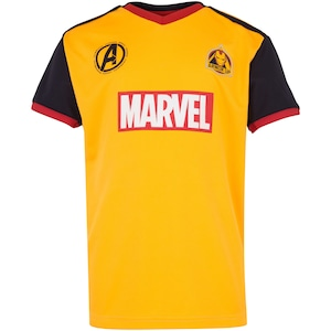 Camiseta Infantil Marvel Homem de Ferro - Fardamento
