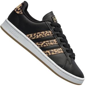 Tênis adidas Grand Court Leopard - Feminino