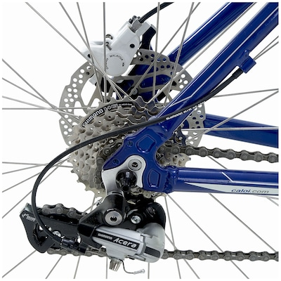 Bicicleta Caloi Elite Pro - Aro 26 - Freio a Disco - Câmbio Shimano - 24 Marchas - Adulto