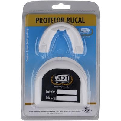 Protetor Bucal Punch Simples Profissional com Estojo