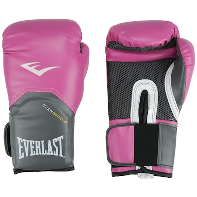 Luvas de Boxe Everlast Pró Style Training - 12 OZ - Feminina