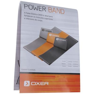 Faixa Elástica Oxer Power Band Forte