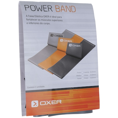 Faixa Elástica Oxer Power Band Médio