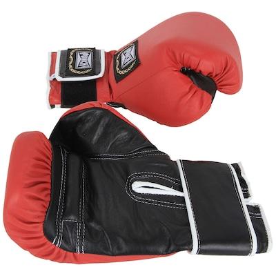 Luvas de Boxe Punch Profissional Couro 08 OZ