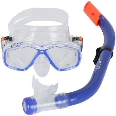 Kit Mergulho: Snorkel e Máscara de Mergulho Oxer Fun Pack - Infantil