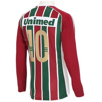 Camisa adidas Fluminense I nº10 Manga Longa