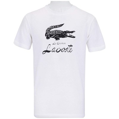 Camiseta Lacoste Estampada - Masculina