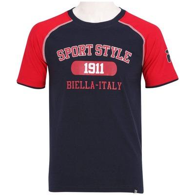 Camiseta Fila Square - Masculina - 777067