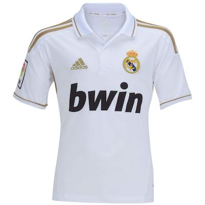 Camisa adidas Real Madrid I - Infantil