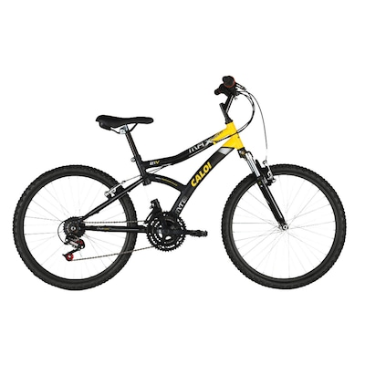 Bicicleta Caloi Max Front - Aro 24 - Freio V-Brake - Câmbio Traseiro Caloi - 21 Marchas