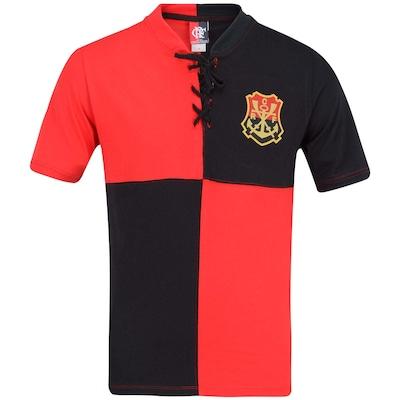 Camiseta Braziline Flamengo Papagaio - Masculina