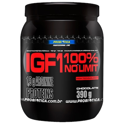 Whey Protein Probiótica IGF1 - 390g - Sabor Chocolate