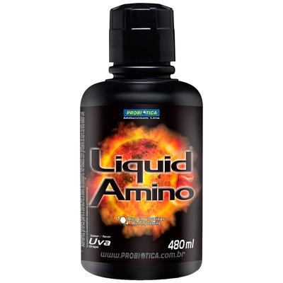 Amino Liquid - 480 ml - Sabor Uva - Probiótica