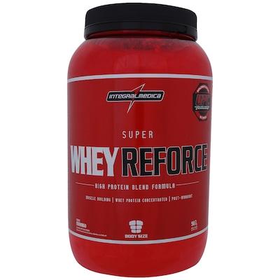 Whey Protein Integralmédica Super Whey Reforce - Morango - 907g