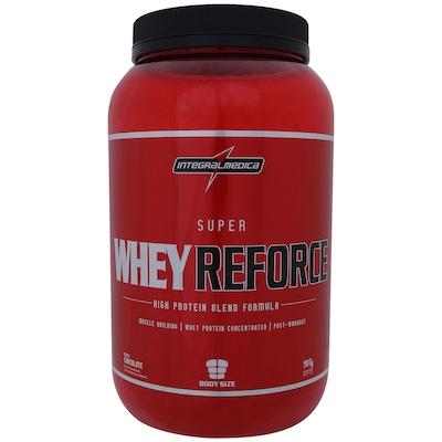 Whey Protein Integralmédica Super Whey Reforce - Chocolate - 907g
