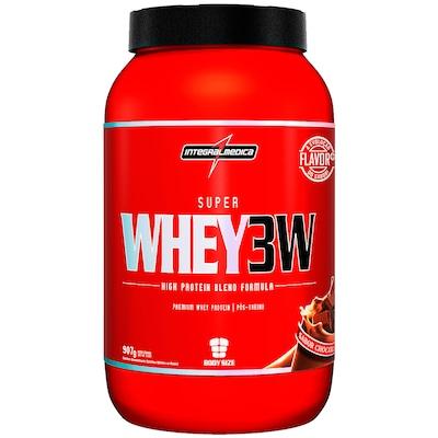 Whey Protein 3W Integralmédica Super Whey 3W - Chocolate - 907g