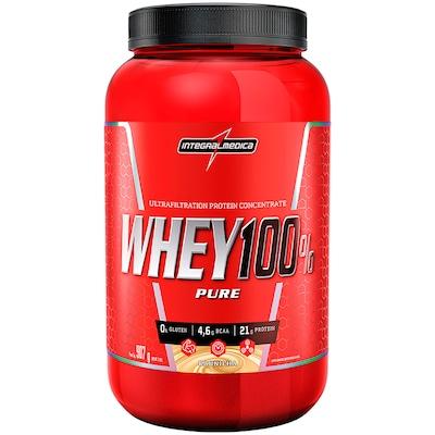 Whey Protein Integralmédica Super Whey 100% Pure - Baunilha - 907g