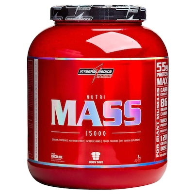 Gainers Mass Body Size - 3 Kg - Sabor Chocolate - Integralmédica