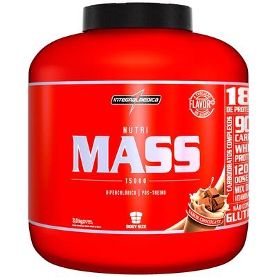 Hipercalórico Integralmédica Nutri Mass 15000 - Chocolate - 3Kg