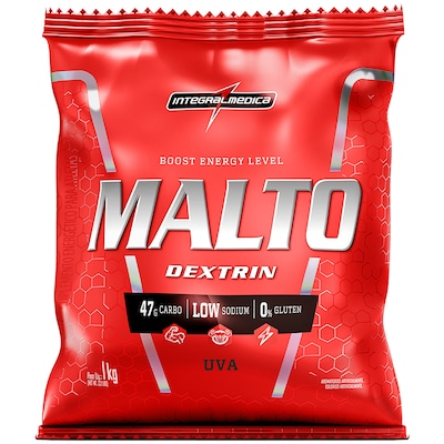 Maltodextrina Integralmédica Malto Dextrin - Uva - 1Kg