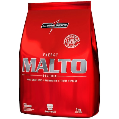 Maltodextrina Integralmédica Malto Dextrin - Tangerina - 1Kg
