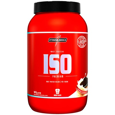 Whey Protein Isolado Integralmédica ISO Low Carb - Cookies - 907g